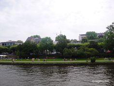 Frankfurt - river bank