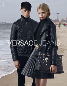 Filip Hrivnak Fronts Versace Jeans Fall/Winter 2015 Campaign