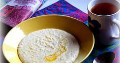3dl hirssisuurimoita 3dl vettä 1.2l maitoa (1.4l) 1/2tl ruususuolaa Nokare voita Kokonaisista hirssisuurimoista valmistaen puuro ot...