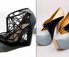 Print 3D Molten Plastics Shoes At Home