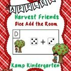 Apple Harvest Friends Dice Add the Room (Sums to 10)  Apple Harvest Friends Dice Add the Room provides a fun and exciting math center for learners ...