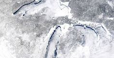 "Great Lakes ice cover over 88%, more than last year - Scientist now think it is a ""Man Made"" Ice Age !"