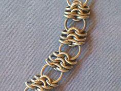 The Rattler Chainmaille bracelet by 88Links, via Flickr