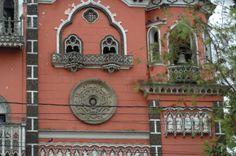 Una de las ventanas de la iglesia la Yurrita  Guatemala Cecilia Tórtola.