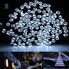 Summer Solar String Lights By FirstLights 100 LED Warm White 39 Feet. Illuminate your household yard! Sale for Summer Season on Amazon.com