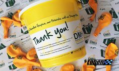 Fantastic to receive some fundraising supplies from Douglas Macmillan Hospice - looking forward to seeing a sea of yellow on our August 19th Track day!   If you don't know much about Lohen's chosen charity, Dougie Mac, you can visit their website here - http://www.dmhospice.org.uk