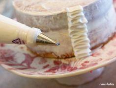 Diy ruffle cake by peonyrose
