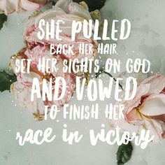 Victory comes when we set our sights on God!