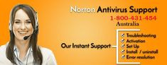 Norton Antivirus Support Australia Number 1-800-431-454 is an incredible and uninterrupted technical service provider with capable to fix any sort of technical errors faced with it. The services have been started with an aim to deliver the best related answers with full customer satisfaction and reliability for Australian customers.