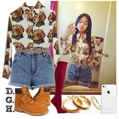 Retro Tiger., created by dopegenhope on Polyvore