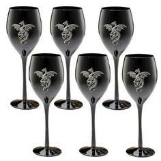 Wyvern Dragon Gothic Glass Goblet: Set of Six $99.95