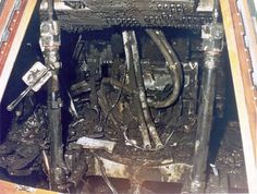 The Apollo 1 command module is pictured after an electrical spark ignited the environment, killing the crew. Nasa Missions, Apollo Missions, Moon Missions, Gus Grissom, Apollo 13, Apollo Nasa, Nasa Engineer, Apollo Space Program, Nasa Photos