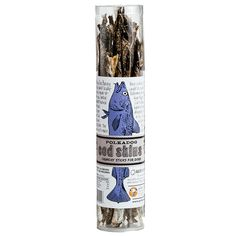 Polka Dog Bakery Cod Skin Jerky in a Tube.  My Kiki (all 11 lbs.) loves these skins  and they're great for larger dogs too.