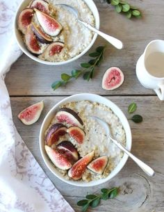 Millet Porridge with Fresh Fig & Hemp Seed | Inspired Edibles