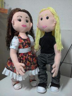 Clara boneca Articulada