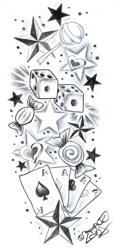 Tattoo Drawings Of Stars Amazing Tattoo Designs Sketchesdeviantart More Like Butterfly Star Tattoo Designs, Tattoo Design Drawings, Art Drawings Sketches, Tattoo Sketches, Star Tattoos, Body Art Tattoos, New Tattoos, Sleeve Tattoos, Maori Tattoos