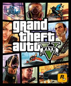 """This Is The Cover Of """"Grand Theft Auto V"""""""