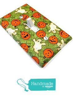 Halloween Pumpkin & Ghost Light Switch Cover from Modern Switch http://www.amazon.com/dp/B0155JVS4M/ref=hnd_sw_r_pi_dp_5X8fwb1NT1RSN #handmadeatamazon