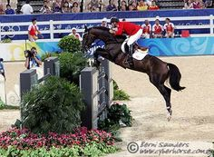 Eric Lamaze and Hickstead...two forces to be reckoned with. Amazing.
