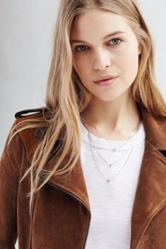 3 Charms Layering Necklace - Urban Outfitters