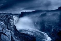 Dettifoss blue by Snorri Gunnarsson on 500px