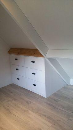 Attic Bedroom Storage, Home, Kitchen Remodel Small, Bedroom Storage, Home Remodeling, Loft Room, Upstairs Bedroom, House Interior, Loft Conversion