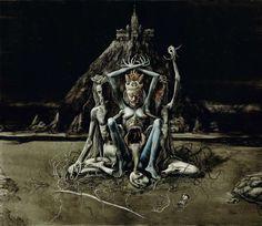 Inner Prophetess, Image via http://santiagocaruso.com.ar/