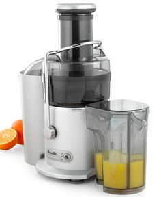 Breville JE98XL 2-Speed Juice Fountain Juicer - Electrics - Kitchen - Macy's