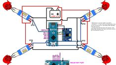 Drone Flight Controller - Build a drone from scratch full tutorial - Arduino Drone Flight Controller – Build a drone from scratch full tutorial Drone Flight Controller – Build a drone from scratch full tutorial - Arduino Bluetooth, Arduino Cnc, Led Cube Arduino, Arduino Quadcopter, Arduino Radio, Arduino Programming, Drone Copter, Arduino Board, Metal Detector