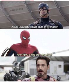 26 Hilarious Marvel Superhero Memes that keep you up all day .- 26 Hilarious Marvel Superhero Memes, die dich den ganzen Tag zum Lachen bringen 26 Hilarious Marvel Superhero memes that make you laugh all day long – - Avengers Humor, The Avengers, Marvel Jokes, Funny Marvel Memes, 9gag Funny, Funny Superhero Memes, Funny Movie Memes, Funny Spider Memes, Spider Man Funny