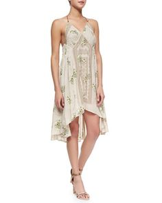 Halter-Style Dress with High-Low Hem by Free People at Neiman Marcus.