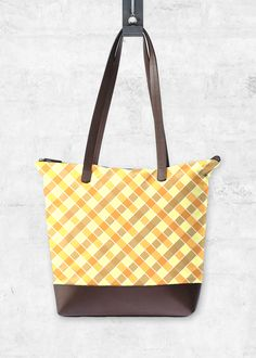 VIDA Statement Bag - Yellow Autumn Wood by VIDA Os5Uv6fF4M