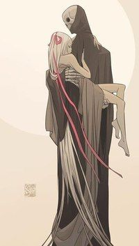 Death and the naked girl Illustration by Otto Schmidt Cool Images Otto Schmidt, Art And Illustration, Art Illustrations, Character Illustration, Character Inspiration, Character Art, Animation Character, Character Sketches, Character Concept