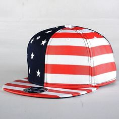 6c62229973c New USA American Flag Snapback QUALITY Adjustable United States Baseball Hat  Cap -  19.99 Flat Hats