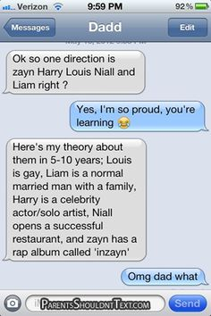 I don't know who ine direction is (I'm assuming its a boy band) but this is too funny!