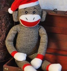 Gift Item | In Stitches Monkey. Just right for that special HOME! Send one to yourself and one to a friend, today! SOC ID 72492