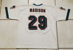 LOGO ATHLETIC Miami Dolphins Sam Madison NFL Jersey