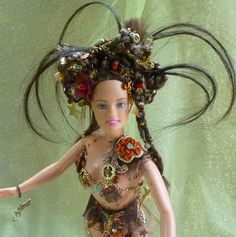 Gothic Princess Steampunk Doll Altered Doll by by gothB4play, $30.66