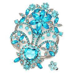 Pugster Luxurious Shinning March Birthstone Aquamarine Crystal Floral Brooches And Pins Christmas Gifts Pugster, http://www.amazon.com/dp/B009L0VM7U/ref=cm_sw_r_pi_dp_ZaAQqb0Y6KMTC