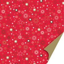 Papier origami recto verso rouge 15x15cm