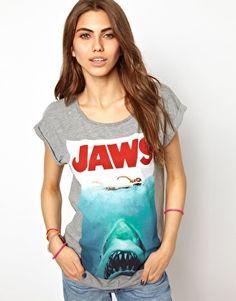 Imagen 1 de Camiseta Jaws de Joystick Junkies ASOS