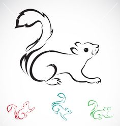 Squirrel on VectorStock