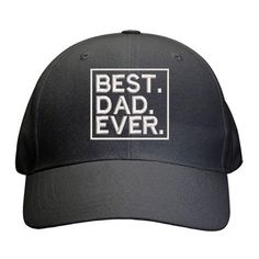 Best Dad Ever Cap Best Dad Gifts, Cool Gifts, Father And Son, Gifts For Father, 2 Year Olds, Sons, Cap, Baseball Hat, Best Gifts For Dad