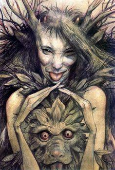 славянские мифические существа картинки - Google Търсене