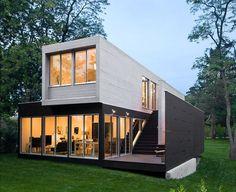Colección de minicasas realizadas con contenedores modulares. Casas prefabricadas. | The HomeBox