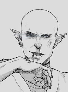 "Solas: ""You should have seen me when I was younger. Hot-blooded and cocky, always ready to fight."" Oh yes please <3"
