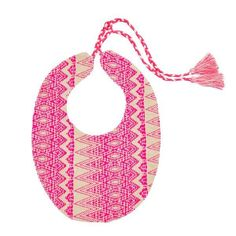 d5d1897ee1b5 Eat in style! A perfect bib for your boho baby