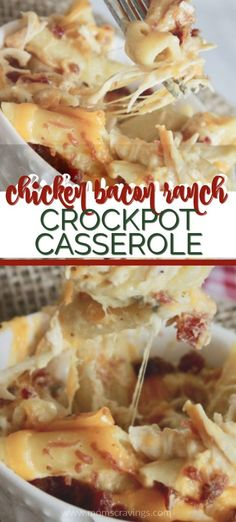 This chicken bacon ranch pasta bake is one of our favorite easy dinner recipes a. - This chicken bacon ranch pasta bake is one of our favorite easy dinner recipes and actually one of - Easy Dinner Recipes, Easy Meals, Fun Dinner Ideas, Easy Dinners For Kids, Kid Meals, Lunch Ideas, Healthy Meals, Healthy Food, Dessert Recipes
