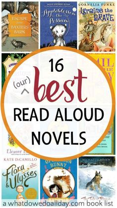 Best Read Aloud Chapter Books for the Whole Family Our best read aloud chapter books that we read this year. Read to 2 kids ages 6 and best read aloud chapter books that we read this year. Read to 2 kids ages 6 and Read Aloud Books, Good Books, My Books, Teen Books, Kids Reading, Teaching Reading, Reading Lists, Reading Books, Learning