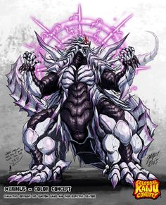 Colossal Kaiju Combat - Xerimus by KaijuSamurai@deviantart.com